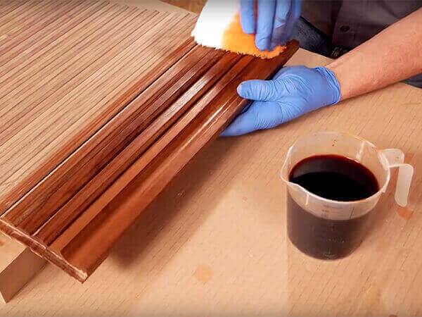 How to fix bad stain job
