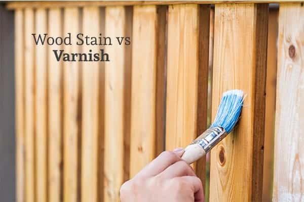 Varnish vs Stain Image