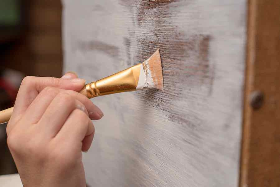 How to Remove Chalk Paint from Wood