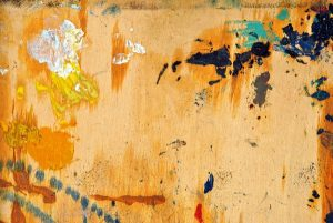 How to remove paint from stained wood
